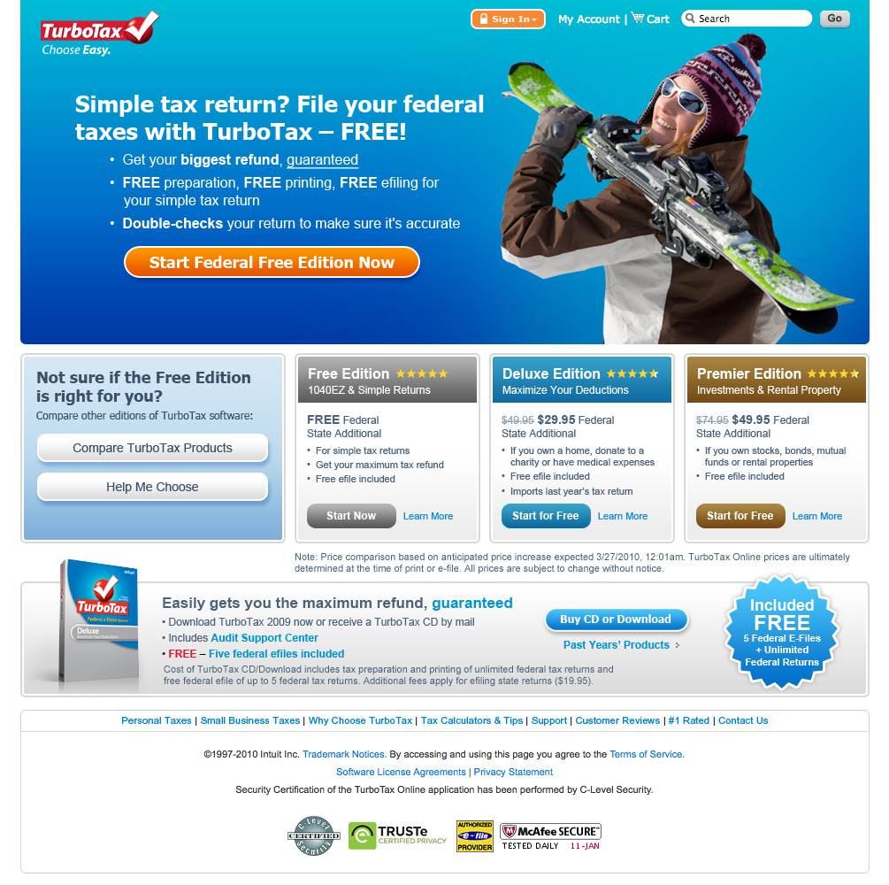Intuit turbotax 2009 home business low price